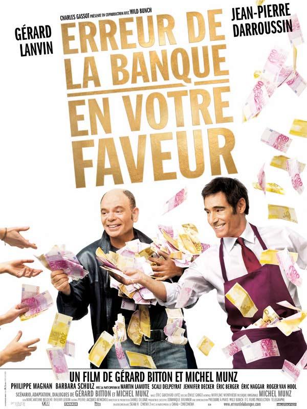 Erreur de la banque en votre faveur | Munz, Michel (Réalisateur)