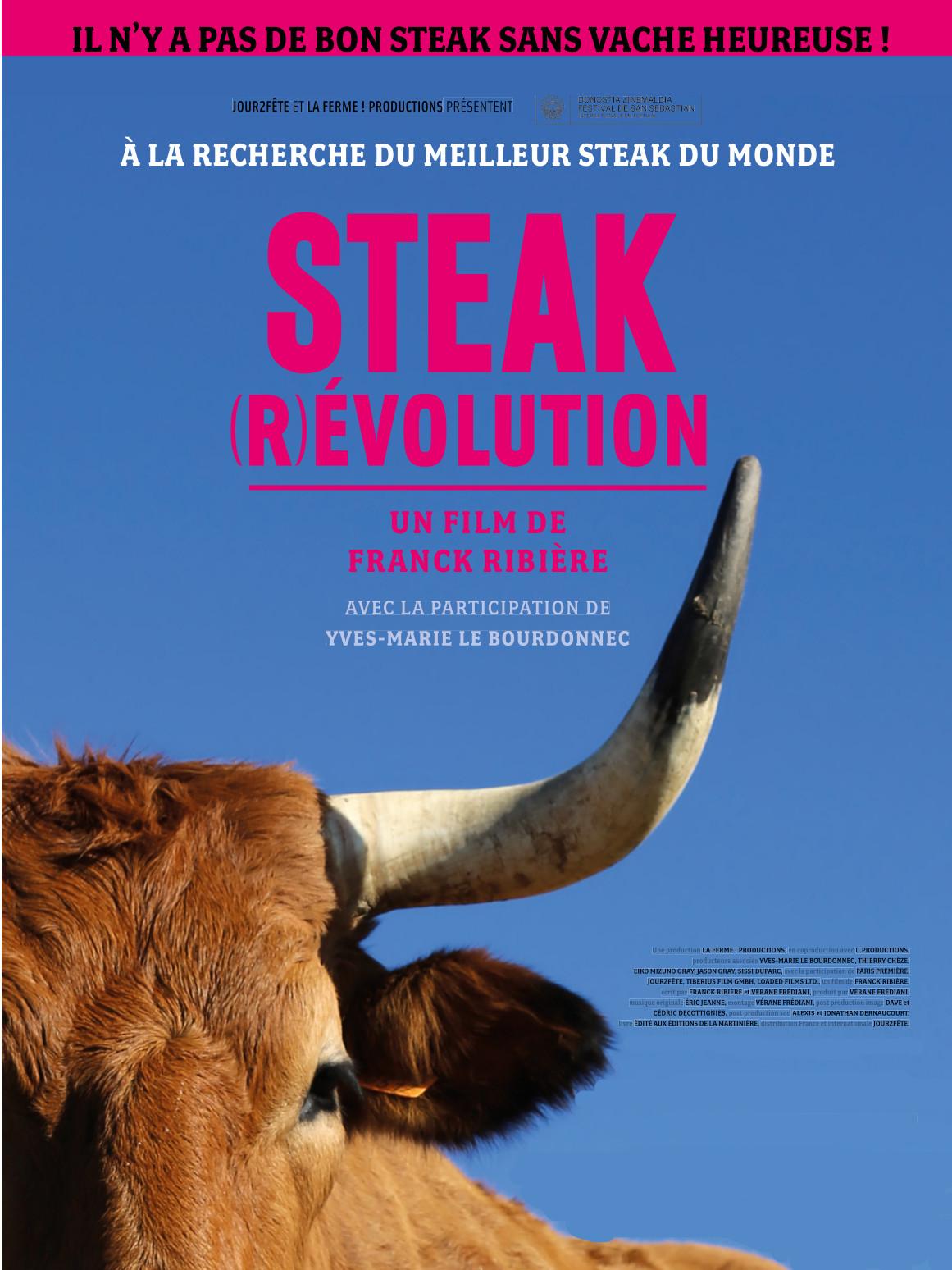 Steak (R)évolution   Ribière, Franck (Réalisateur)