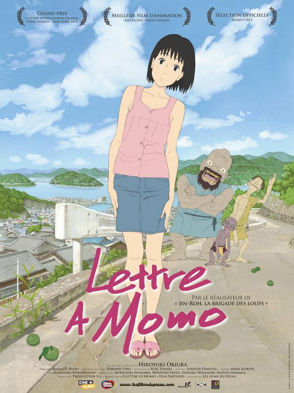 Lettre à Momo | Okiura, Hiroyuki (Réalisateur)