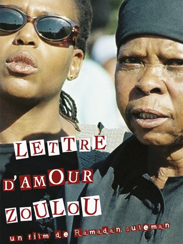 Lettre d'amour zoulou