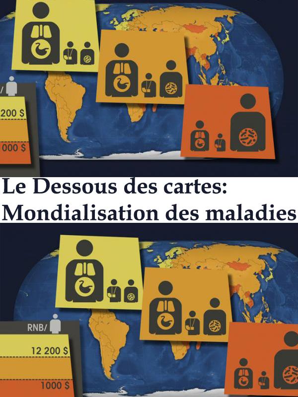 Le Dessous des cartes - Mondialisation des maladies | Ramade, Frédéric (Réalisateur)