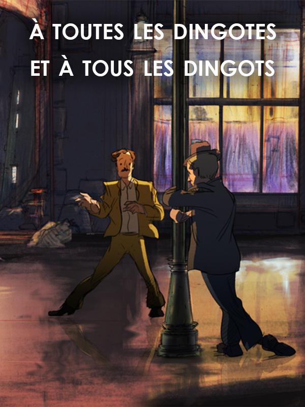 A toutes les dingotes et à tous les dingos (En sortant de l'école - Guillaume Apollinaire)