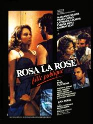 Rosa la rose, fille publique