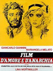 Film d'amour et d'anarchie