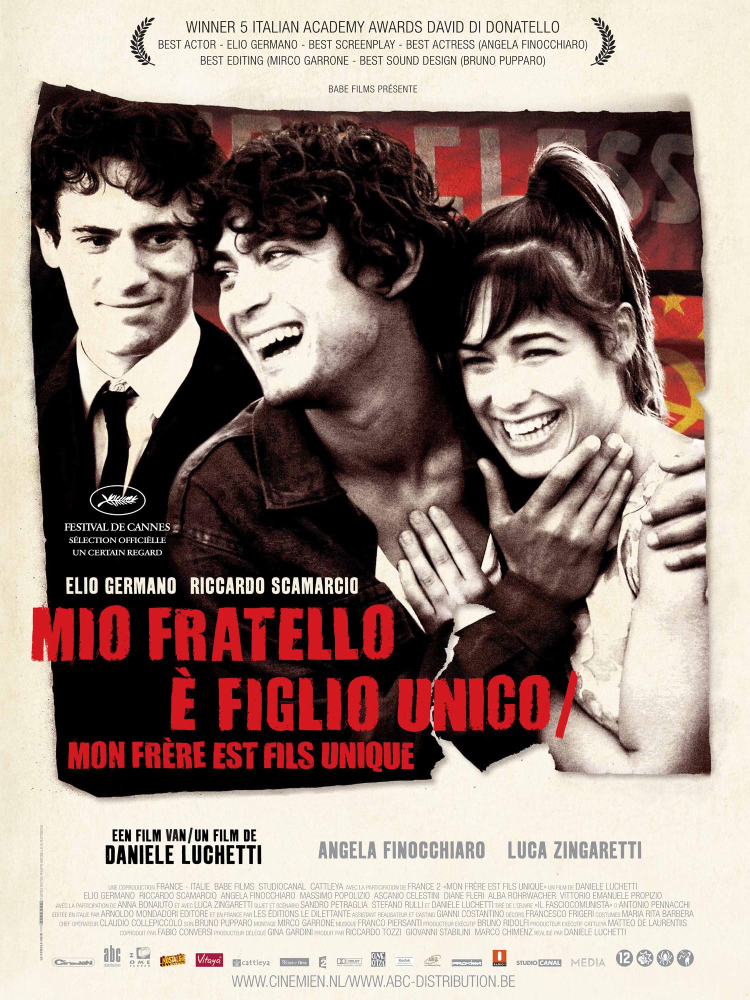 Film Fest Gent Mio Fratello e Figlio Unico