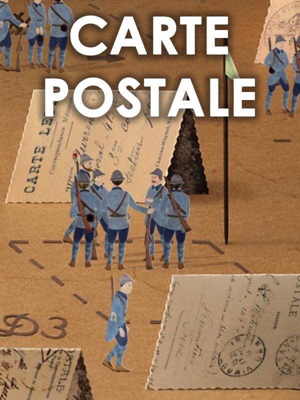 Carte Postale (En sortant de l'école - Guillaume Apollinaire)