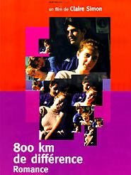 800 km de différence - Romance | Simon, Claire (Réalisateur)