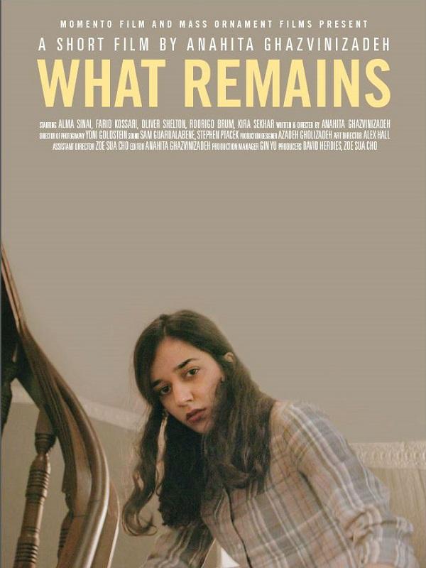 What Remains   Ghazvinizadeh, Anahita (Réalisateur)