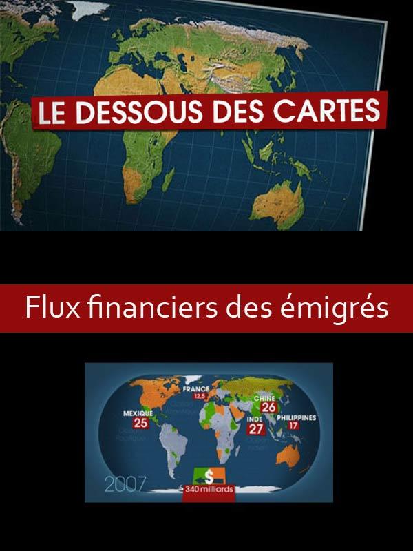 Le Dessous des cartes - Flux financiers des émigrés | Jomier, Alain (Réalisateur)