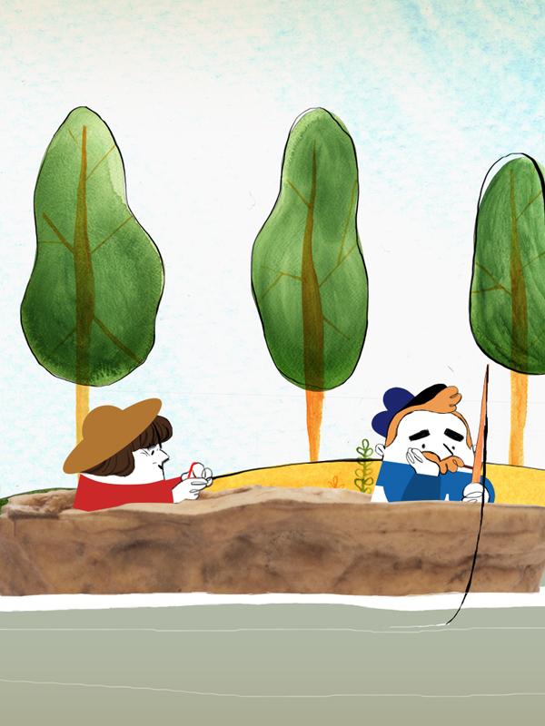 Dans un petit bateau (En sortant de l'école - Robert Desnos)