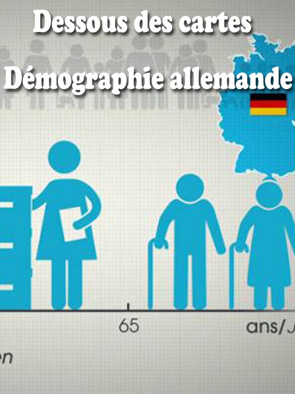 Dessous des cartes - Démographie allemande |
