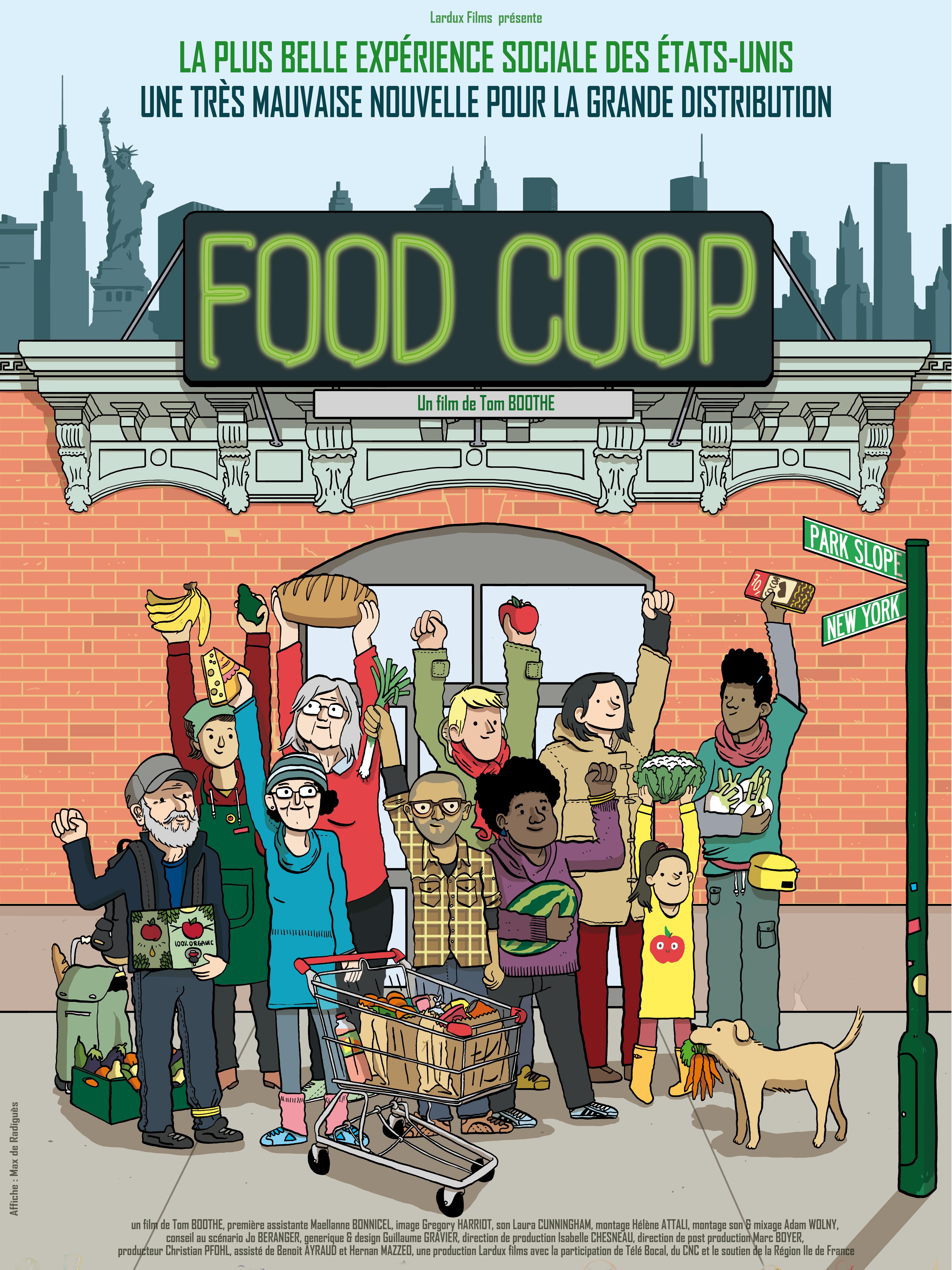 Food Coop | Boothe, Thomas (Réalisateur)