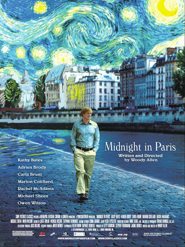 Film Fest Gent Midnight in Paris