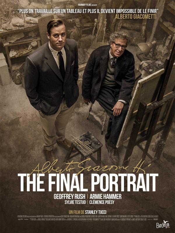 Alberto Giacometti, The Final Portrait | Tucci, Stanley (Réalisateur)