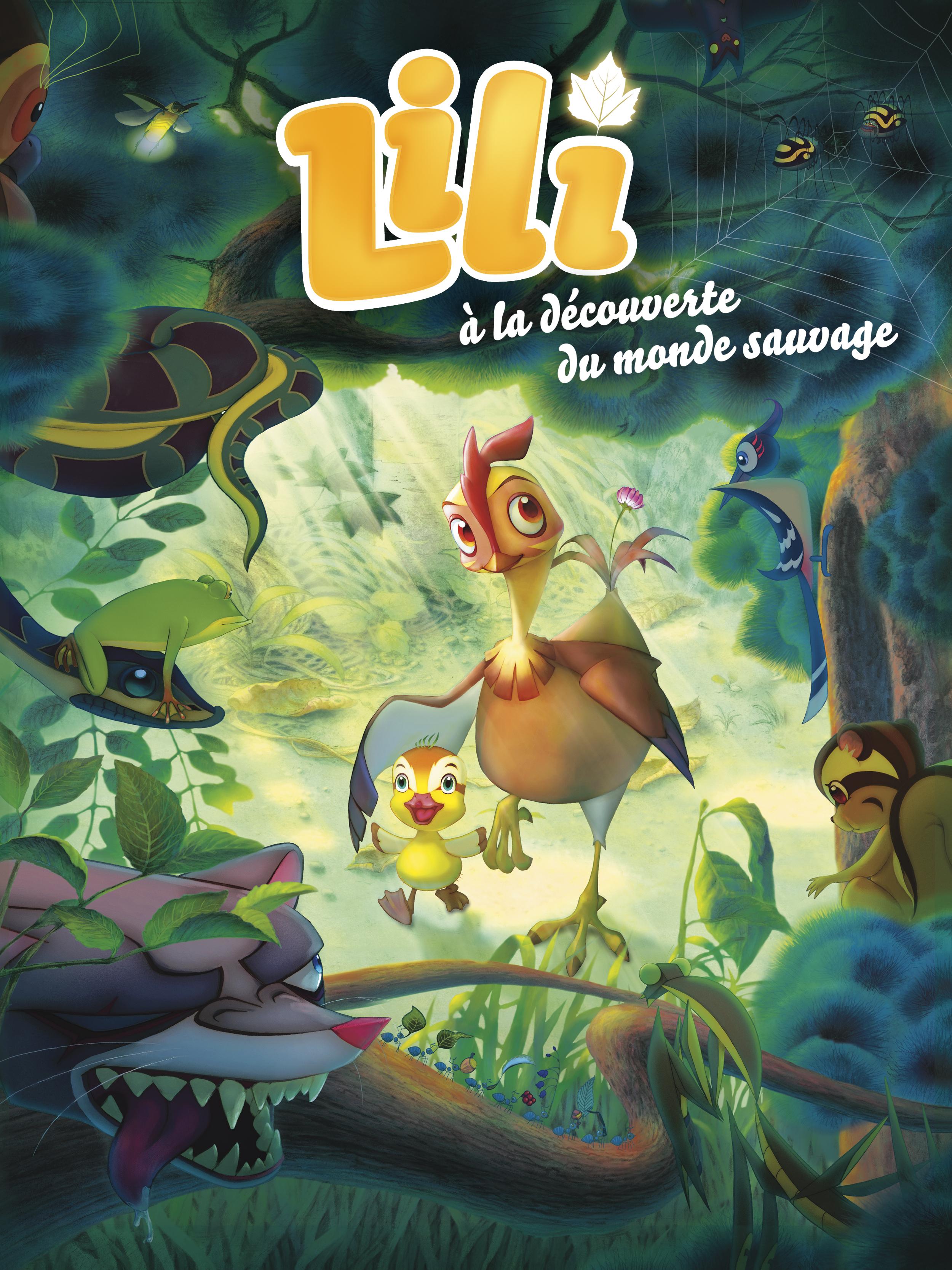 Lili à la découverte du monde sauvage | Seongyun, Oh (Réalisateur)