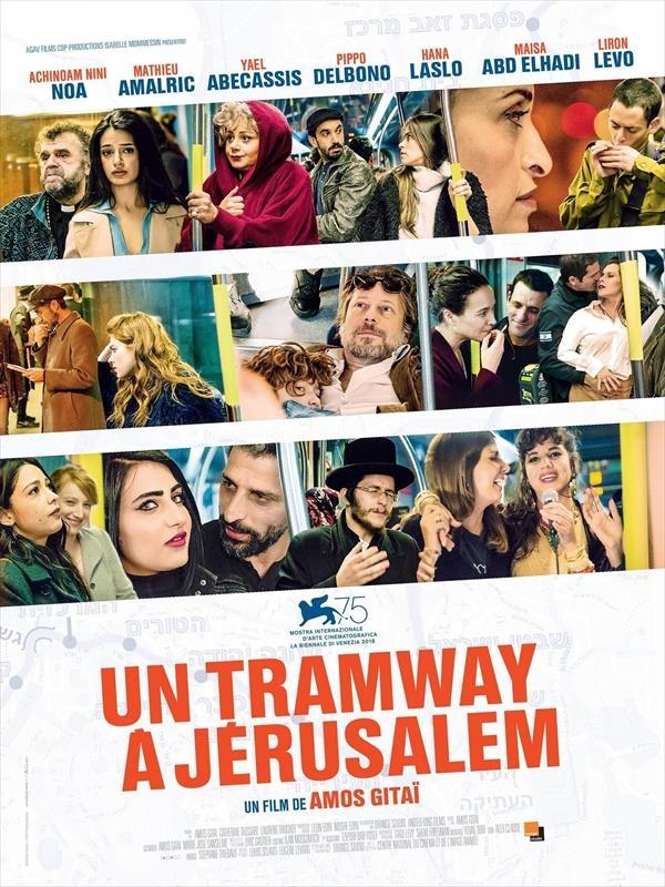 Un tramway à Jérusalem |