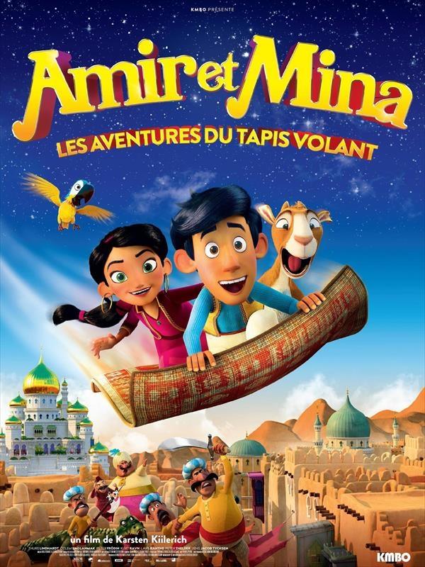 Amir et Mina : les aventures du tapis volant |
