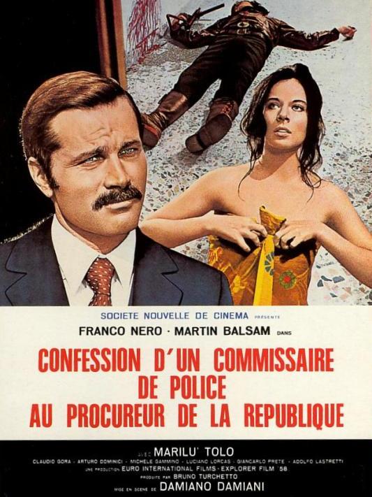 Confession d'un commissaire de police au procureur de la république   Damiani, Damiano (Réalisateur)