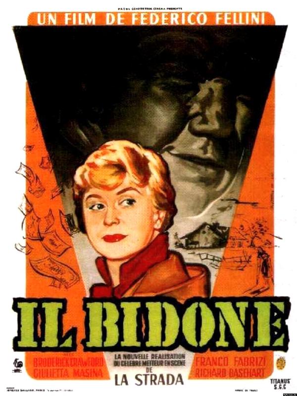 Il Bidone   Fellini, Federico (Réalisateur)
