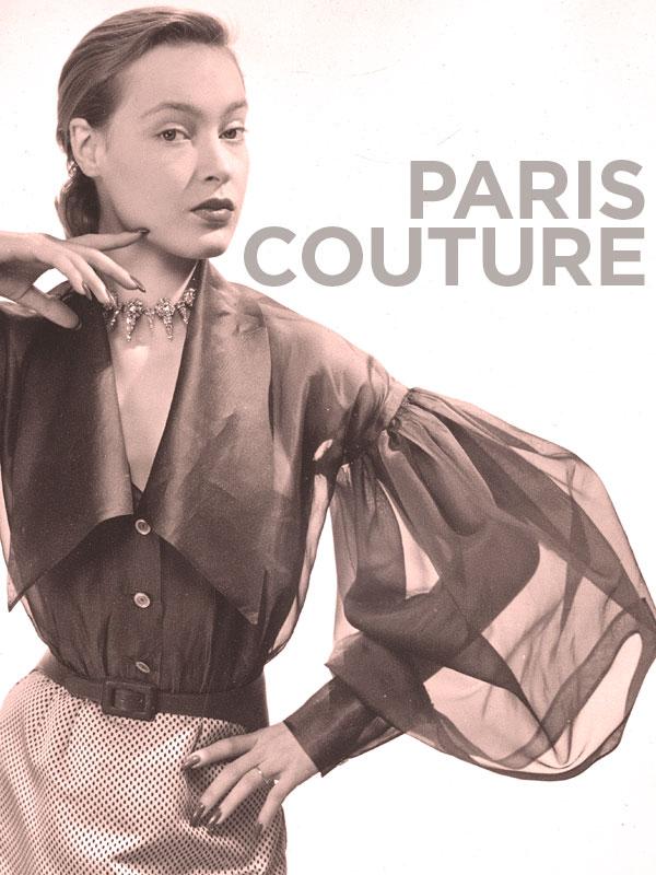 Paris couture 1945-1968 | Lauritano, Jean (Réalisateur)