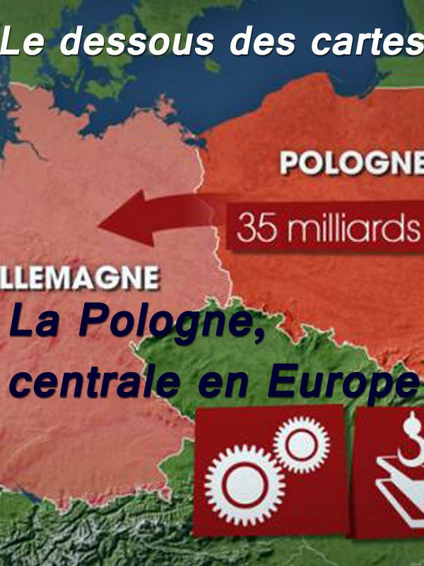 Le dessous des cartes - La Pologne, centrale en Europe | Victor, Jean-Christophe (Réalisateur)