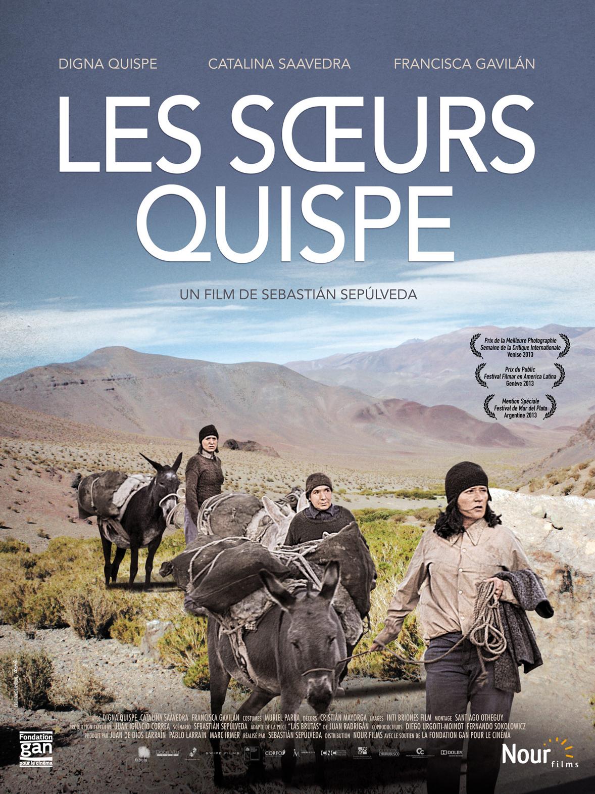Les Soeurs Quispe   Sepúlveda, Sebastián (Réalisateur)