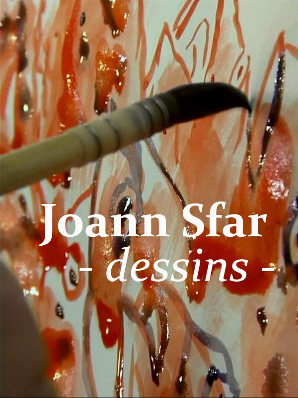 Joann Sfar - dessins | Amalric, Mathieu (Réalisateur)