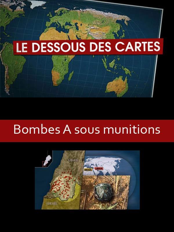 Le dessous des cartes - Bombes A sous-munitions | Jomier, Alain (Réalisateur)