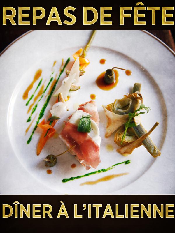 Repas de fête - Dîner à l'italienne | Valluet, Matthieu (Réalisateur)