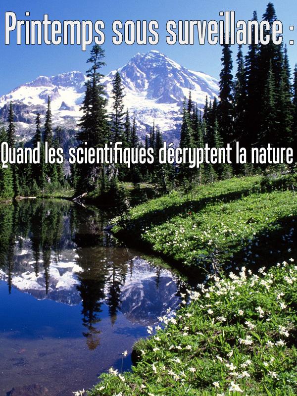 Printemps sous surveillance : Quand les scientifiques décryptent la nature |