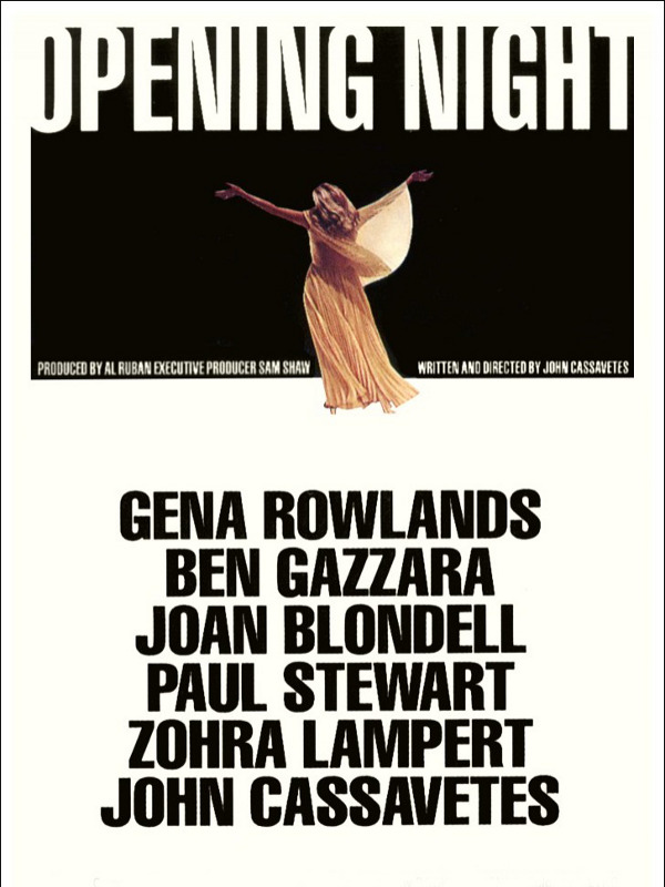 Opening Night | Cassavetes, John (Réalisateur)