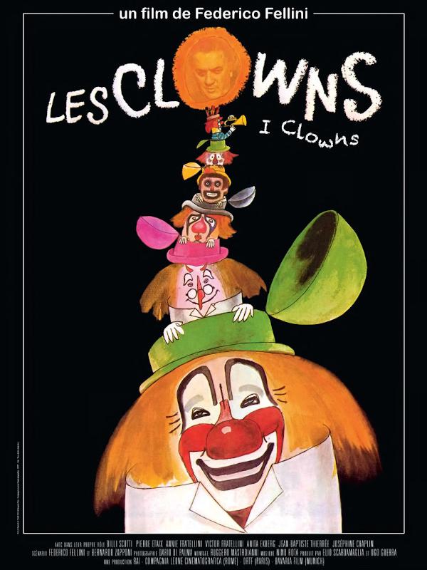 Les Clowns   Fellini, Federico (Réalisateur)