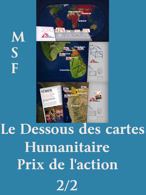 Le Dessous des cartes - Humanitaire - Prix de l'action |