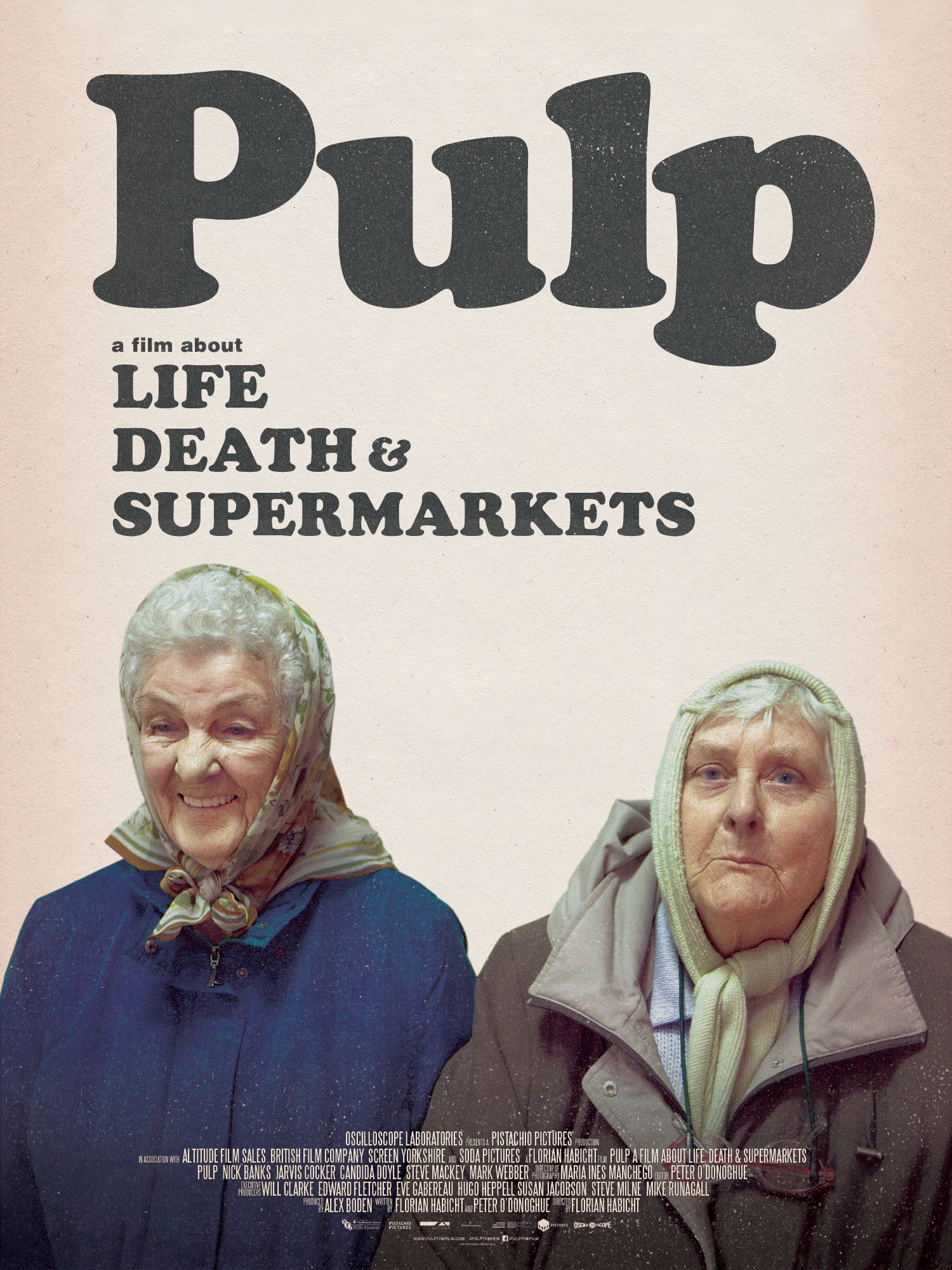 "Afficher ""Pulp : a Film About Life, Death & Supermarkets"""
