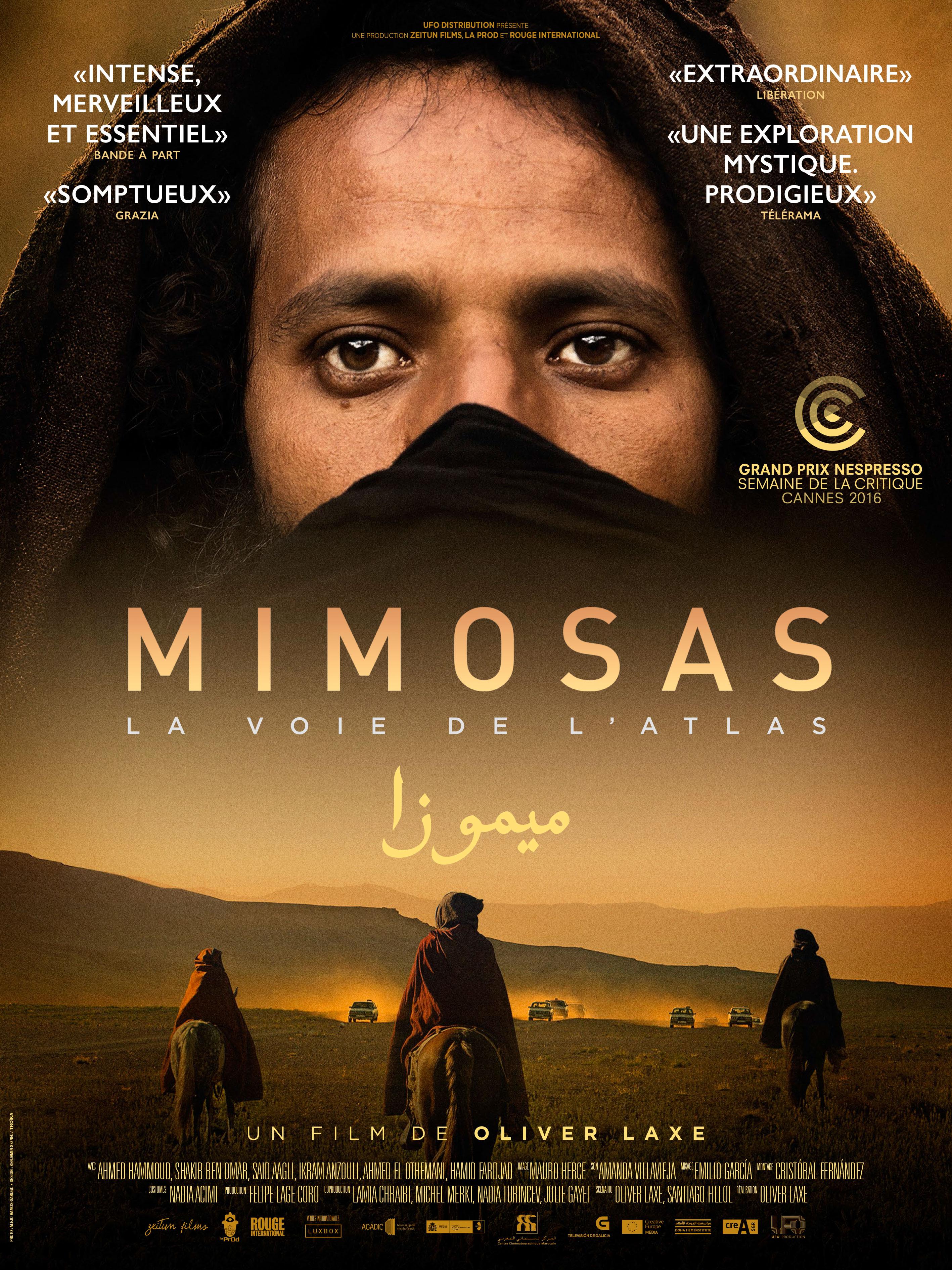 Mimosas, la voie de l'Atlas | Laxe, Oliver (Réalisateur)