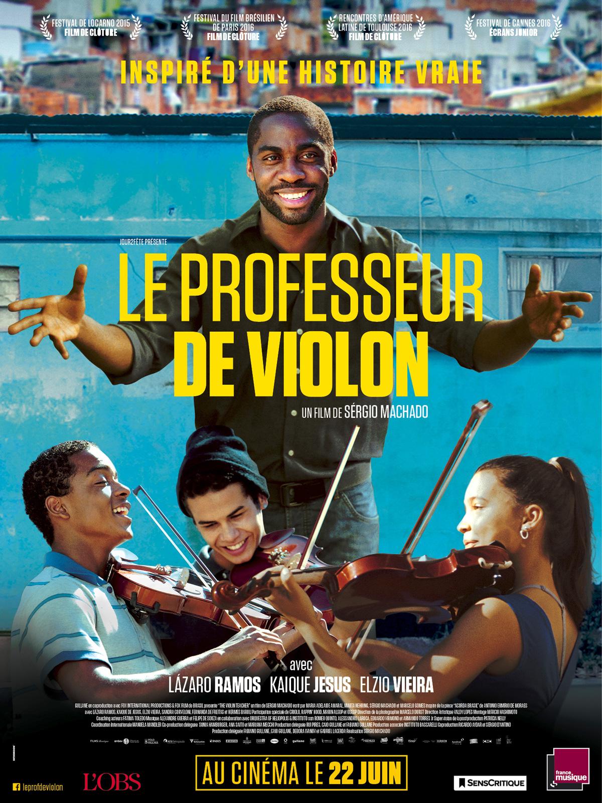 Le Professeur de violon | Machado, Sérgio (Réalisateur)
