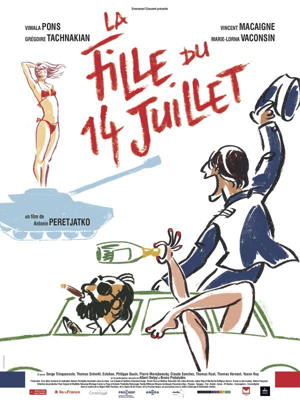La Fille du 14 juillet | Peretjatko, Antonin (Réalisateur)