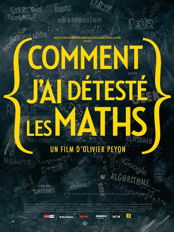 Comment j'ai détesté les maths | Peyon, Olivier (Réalisateur)
