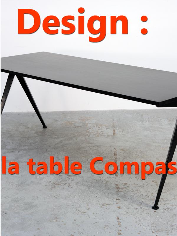 Design : la table Compas | Schirman, Danielle (Réalisateur)