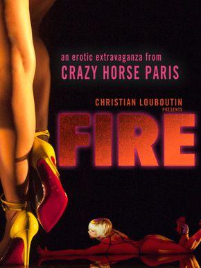 Fire : Crazy Horse Paris