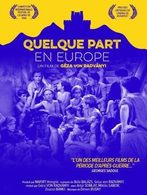 Quelque part en Europe