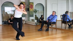 DANCE FIGHT LOVE DIE - With Mikis Theodorakis on the Road