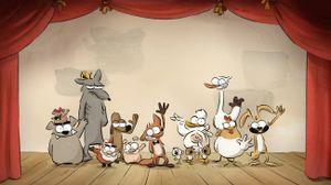 Le Grand méchant renard (et autres contes)