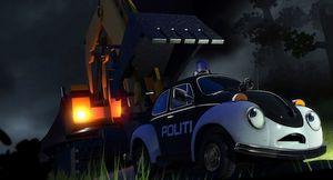 Pelle De Politiewagen