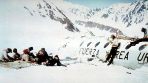 Naufragés des Andes