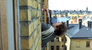 Un flic sur le toit