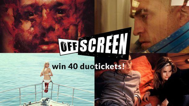 WIN - UniversCiné nodigt jullie uit op het Offscreen Film Festival!