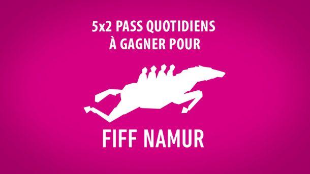 [CONCOURS] Gagnez 5x2 pass quotidiens pour le 32ème FIFF Namur !